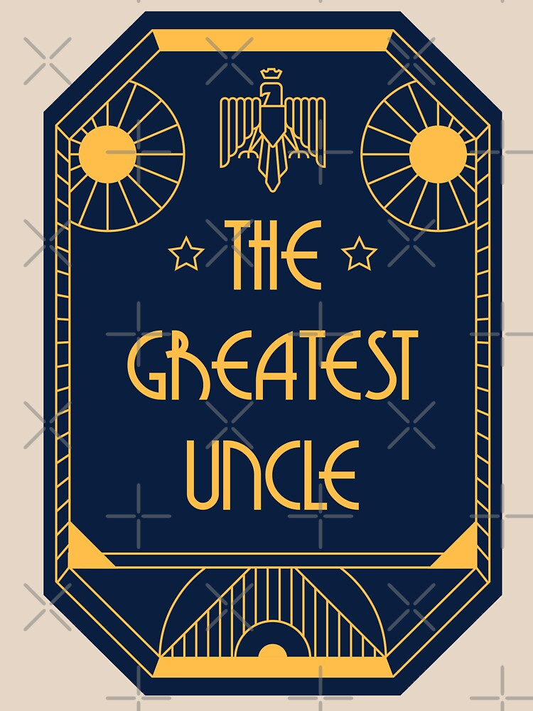 The Greatest Uncle - Art Deco Medal of Honor by Millusti