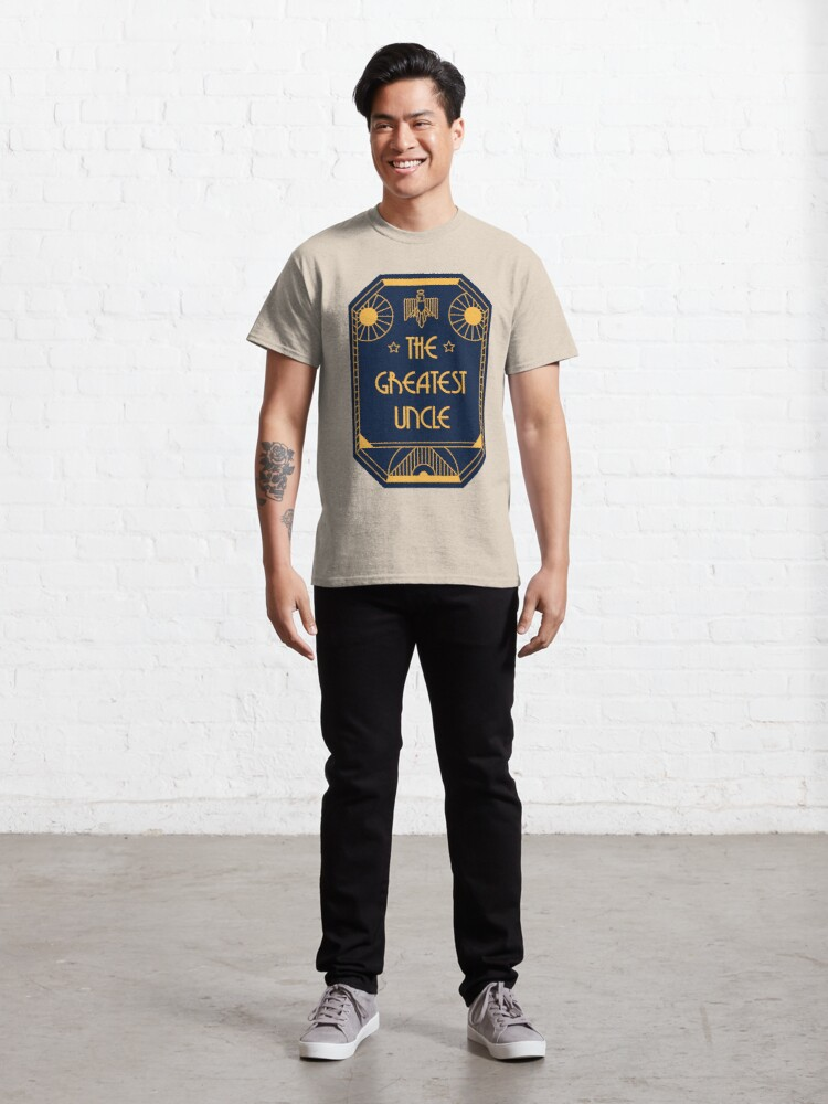 Alternate view of The Greatest Uncle - Art Deco Medal of Honor Classic T-Shirt