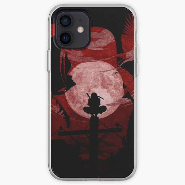 Ombre de sang rouge Coque souple iPhone