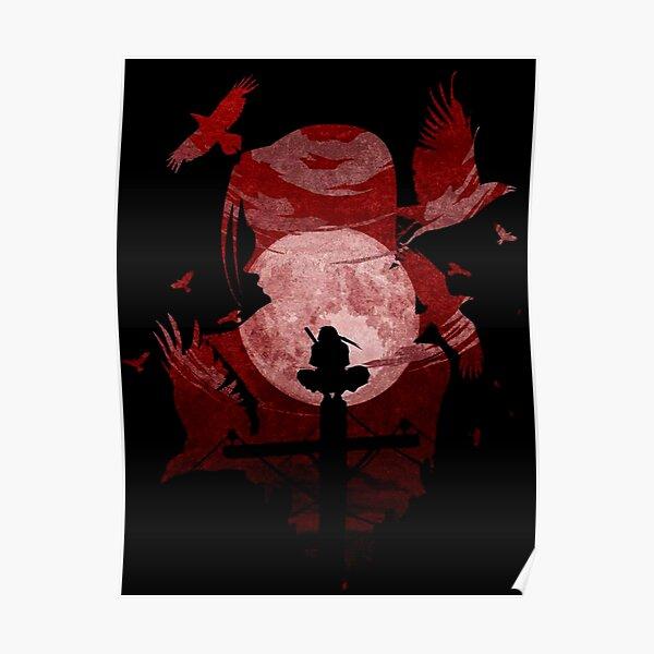 Sombra de sangre roja Póster