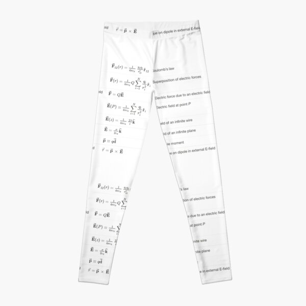 Coulomb's Law  Leggings