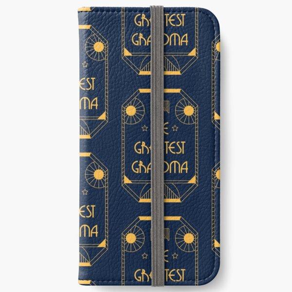 The Greatest Grandma - Art Deco Medal of Honor iPhone Wallet