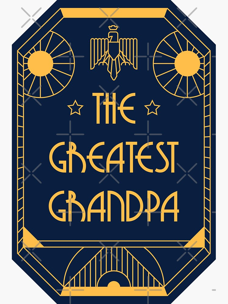 The Greatest Grandpa - Art Deco Medal of Honor by Millusti