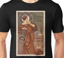 Artist Posters The Emerson College of Oratory 0593 Unisex T-Shirt