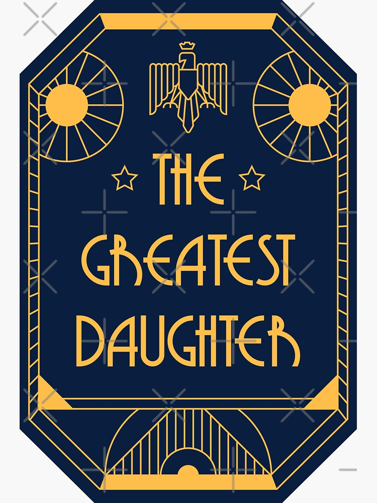 The Greatest Daughter - Art Deco Medal of Honor by Millusti