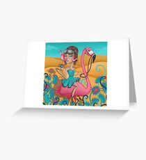 Venus by Miss E Greeting Card