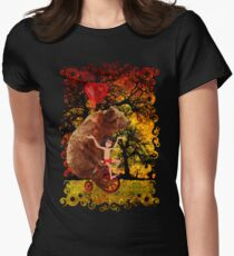 The Honey Bear with Geek Boy iPhone 4 4s 5 5c 6, pillow case, mugs and tshirt  T-Shirt