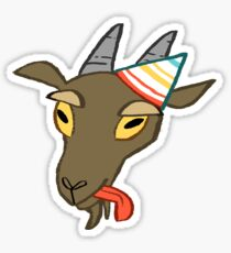PARTY GOAT Sticker