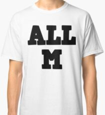 All Might - All M - my hero academia Classic T-Shirt