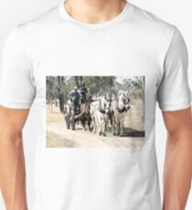 Carting the Wool Bales T-Shirt
