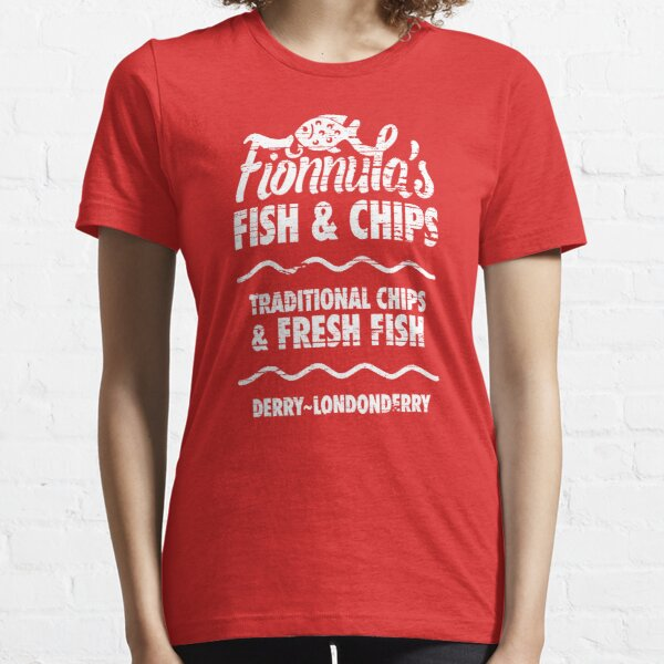 Best Fish and Chips in Northern Ireland Essential T-Shirt