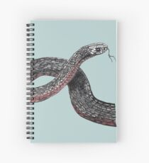 Red Belly Black Snake Spiral Notebook