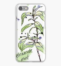 Culinary Herbs - Vietnamese Mint iPhone Case/Skin