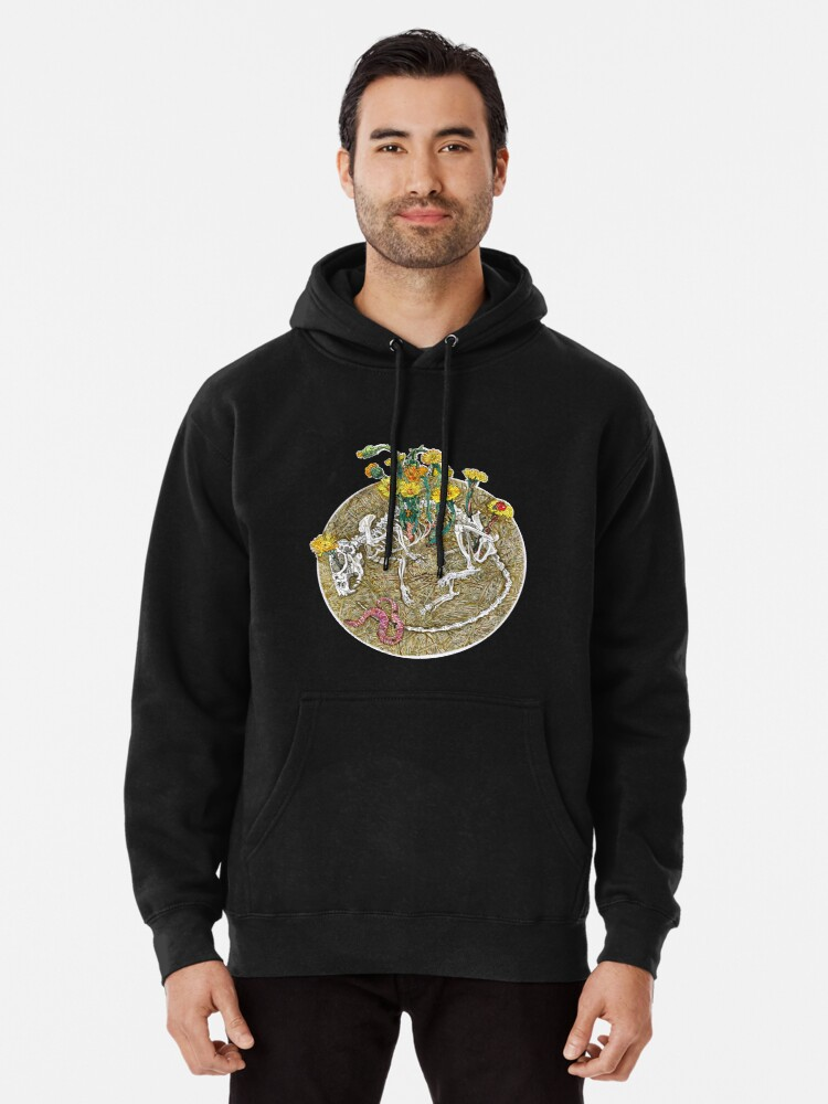 Alternate view of Circle of life. Pullover Hoodie