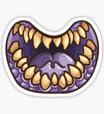 Jaws of the Purple People Eater Sticker