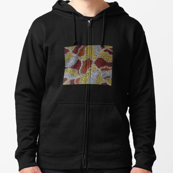 The Wasp Nest Rock Formation Zipped Hoodie