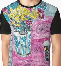 flowers and fabric 3 Graphic T-Shirt