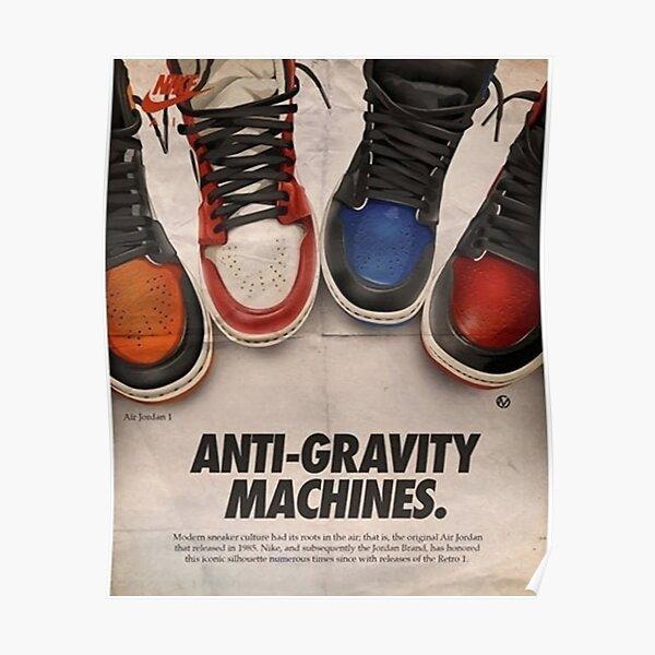 Máquinas anti-gravedad Póster