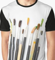set of brushes for drawing  Graphic T-Shirt