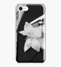 wedding groom suit and tie  iPhone Case/Skin