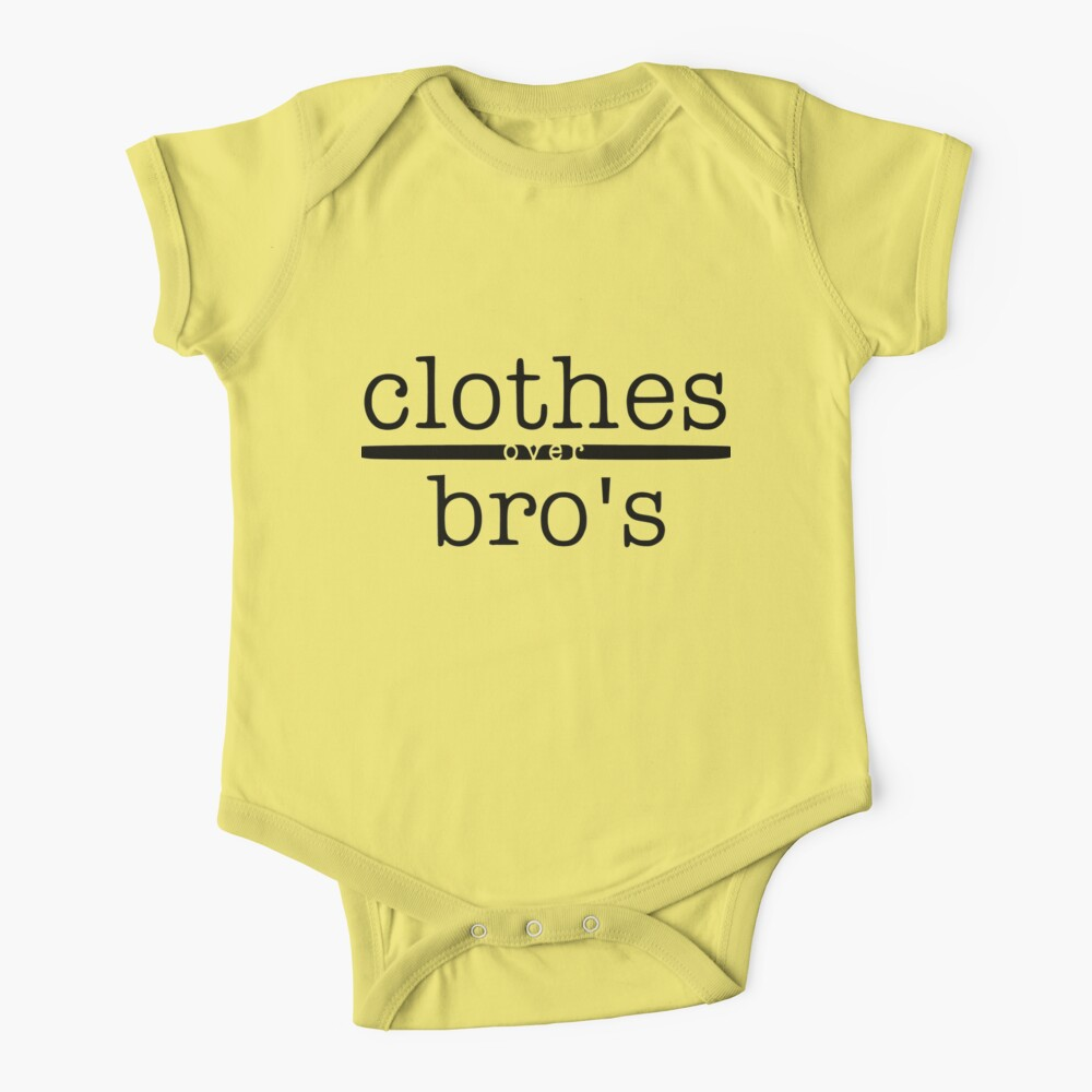 One tree hill- Clothes over bro's Baby One-Piece