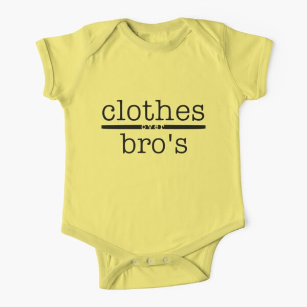 One tree hill- Clothes over bro's Short Sleeve Baby One-Piece