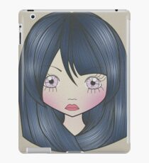 Dollhouse Girl Blue iPad Case/Skin