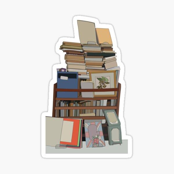 Second Hand Books Sticker