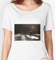 Dusk Carriage Quebec City Women's Relaxed Fit T-Shirt