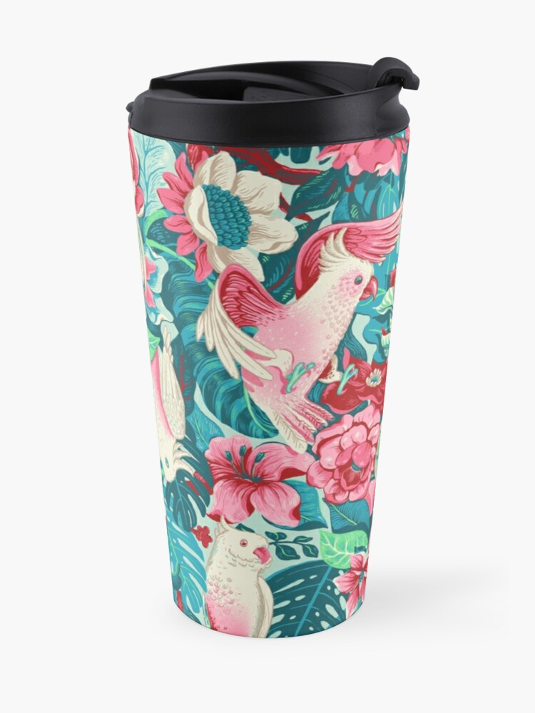Alternate view of Florida Tapestry - daytime version Travel Mug