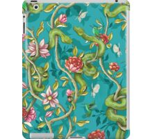 Morning Song - turquoise iPad Case/Skin