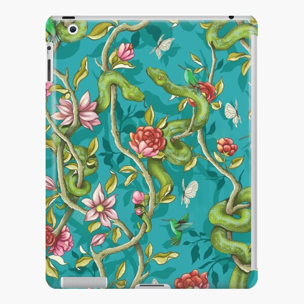 Morning Song - turquoise iPad Snap Case