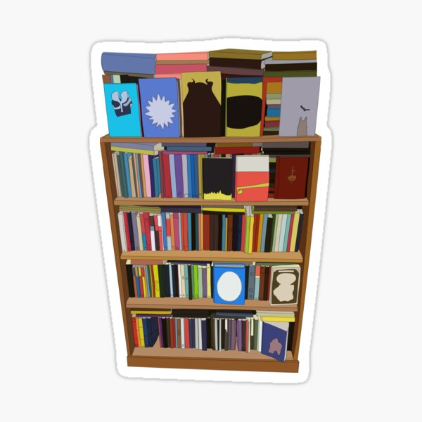 New Books Sticker