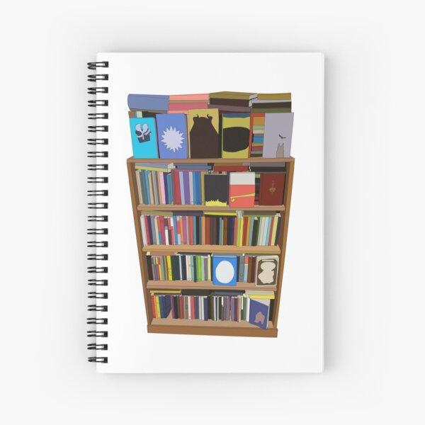 New Books Spiral Notebook