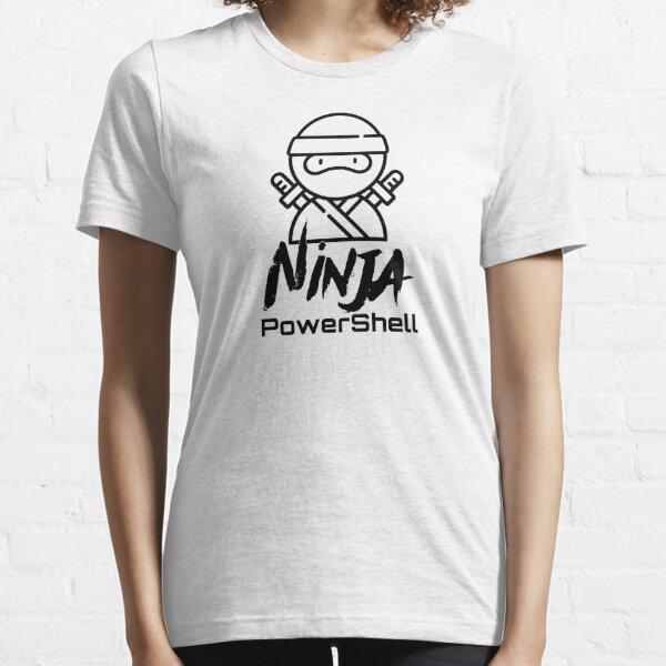 PowerShell Ninja (black) Essential T-Shirt