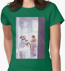 Stuck With Me Womens Fitted T-Shirt