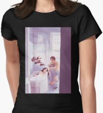 Stuck With Me Women's Fitted T-Shirt