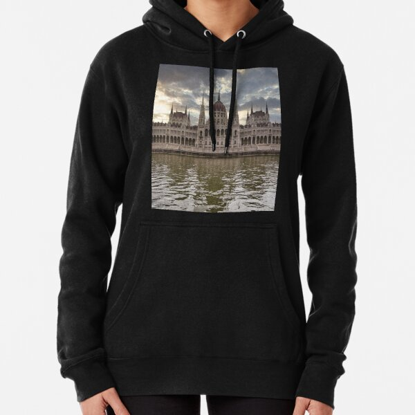 Budapest Parliament Pullover Hoodie