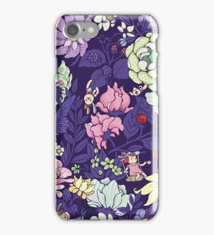 The Garden Party - blueberry tea version iPhone Case/Skin