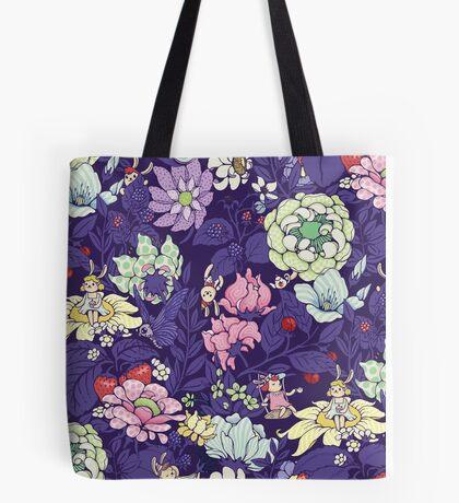 The Garden Party - blueberry tea version Tote Bag