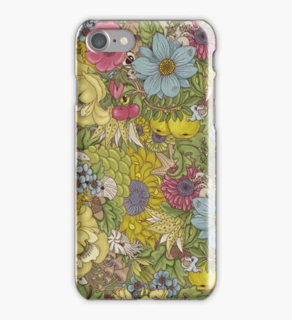 The Wild Side - Spring iPhone Case/Skin