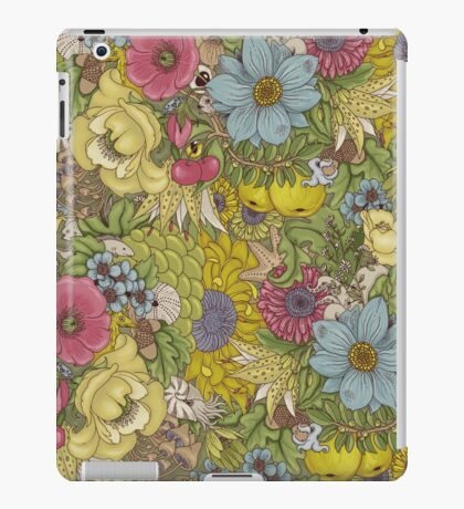 The Wild Side - Spring iPad Case/Skin