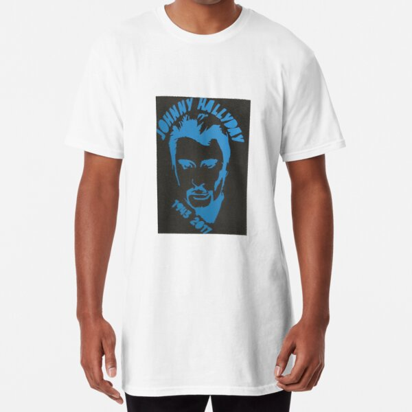 johnny hallyday T-shirt long