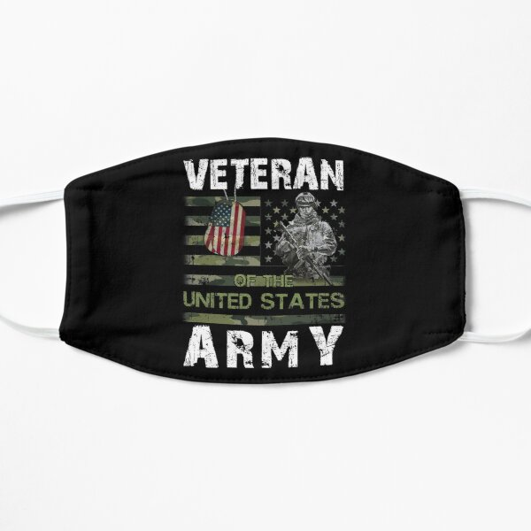 US Army Veteran Flat Mask