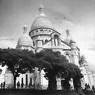 Sacre Coeur Paris by John Rivera