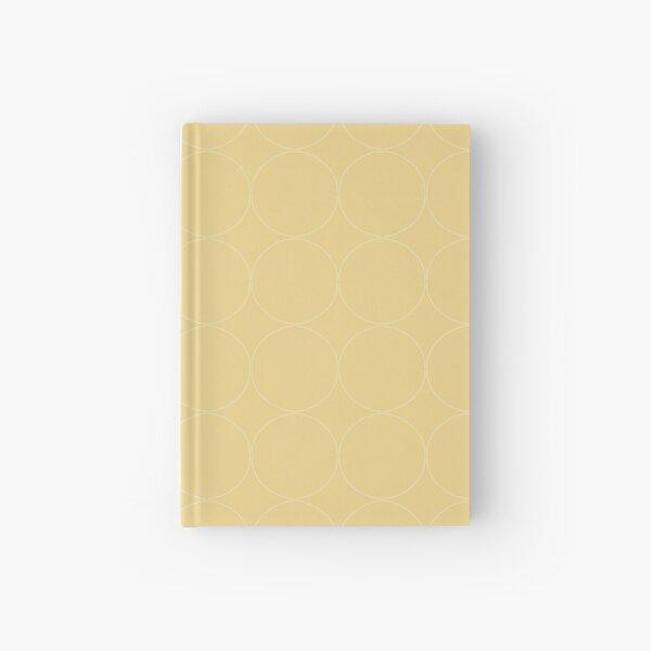 Cottagecore Yellow Circle Pattern Hardcover Journal