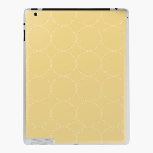 Cottagecore Yellow Circle Pattern iPad Skin
