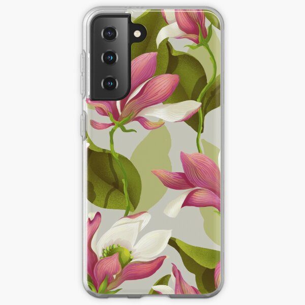 Magnolia Bloom - Morning Samsung Galaxy Soft Case