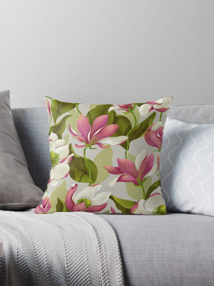 Magnolien-Blüte - Morgen von Lidija Paradinovic Nagulov