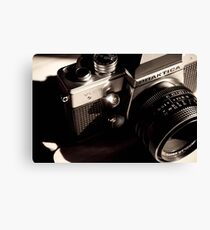 35mm Camera Canvas Print